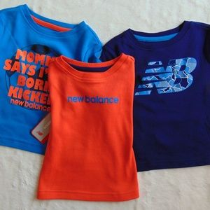 New Balance Pack of 3 Shirts New with Tags